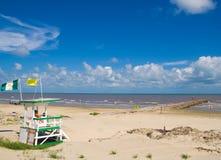 Lifeguard e o mar Imagem de Stock Royalty Free