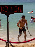 Lifeguard finish Royalty Free Stock Photo