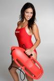 Lifeguard fêmea Fotografia de Stock
