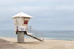 The Lifeguard Headquarter. The lifguard headquarter in Laguna Beach, California royalty free stock photos