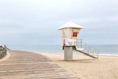 The Lifeguard Headquarter. The lifguard headquarter in Laguna Beach, California royalty free stock photo