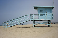 lifeguard house Stock Photos
