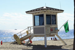 Lifeguard House #7, Fort Lauderdale Royalty Free Stock Photography