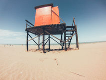 Lifeguard house Stock Photography