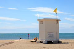 Lifeguard hut Royalty Free Stock Images