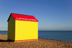 Lifeguard hut Royalty Free Stock Photo
