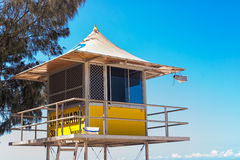 Lifeguard Hut At The City Of Gold Coast Stock Photos