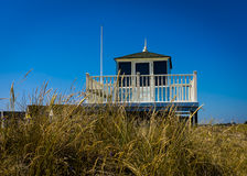 Lifeguard Hut Stock Image