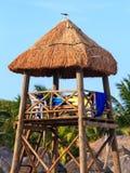 Lifeguard hut Stock Photography