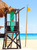 Lifeguard hut Royalty Free Stock Photo