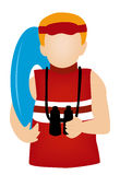 Lifeguard Icon Royalty Free Stock Photography