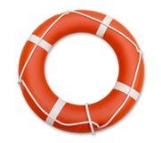 Lifeguard, isolated on white background Stock Images
