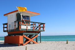 Lifeguard Outpost Royalty Free Stock Image