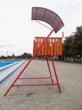 Lifeguard place Stock Image