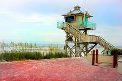 Lifeguard Post Royalty Free Stock Photography