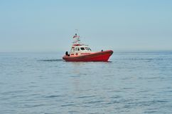 Lifeguard rescue ship Stock Photos