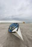 Lifeguard rowboat Stock Photos