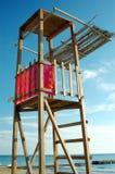 Lifeguard`s observation platform Royalty Free Stock Photography