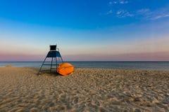 Lifeguard sea Stock Images
