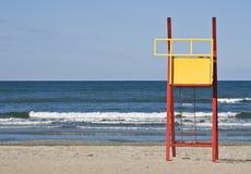 Lifeguard seat Stock Photo
