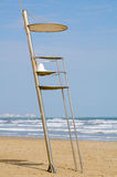 Lifeguard seat Royalty Free Stock Photos