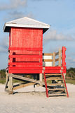 Lifeguard shack Stock Photos