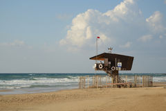 Lifeguard shack Royalty Free Stock Photography