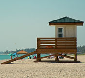 The Lifeguard Shack Stock Images