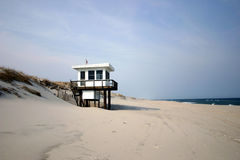 Lifeguard Shed � Jersey Shore Stock Images