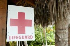 Lifeguard Sign Stock Image