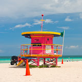 Lifeguard stand Royalty Free Stock Images