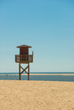 Lifeguard stand Stock Images