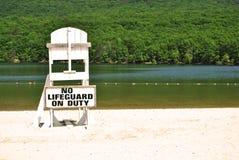 Lifeguard Stand at Lake Stock Photos