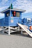 Lifeguard Station Stock Photos