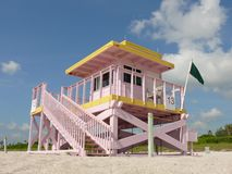 Lifeguard station 13 royalty free stock image