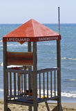 Lifeguard station Stock Photos