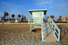 Lifeguard Station. In California's Venice Beach royalty free stock photography