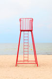 Lifeguard station Royalty Free Stock Images