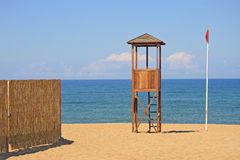 Free Lifeguard Station Royalty Free Stock Images - 19657449