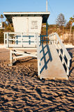 Lifeguard station Stock Images