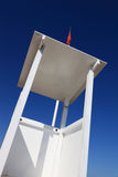 Lifeguard station on the beach Royalty Free Stock Images
