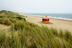 Lifeguard Station at Brittas Bay Stock Photos