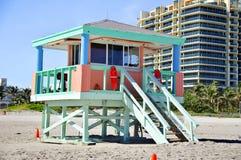 Lifeguard station Royalty Free Stock Image