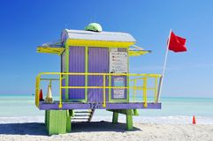 Lifeguard station Royalty Free Stock Image