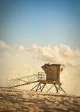 Lifeguard Station at Dusk Royalty Free Stock Image