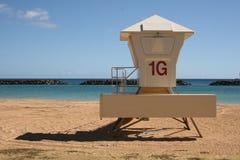 Lifeguard Station on Magic Island Royalty Free Stock Image