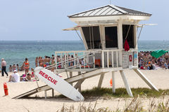 Lifeguard Station Royalty Free Stock Photos