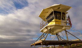 Lifeguard Station Stock Photography