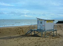 Beach Lifeguard Station UK Royalty Free Stock Photo