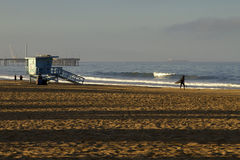 Lifeguard Station at Venice Beach, California Royalty Free Stock Photo